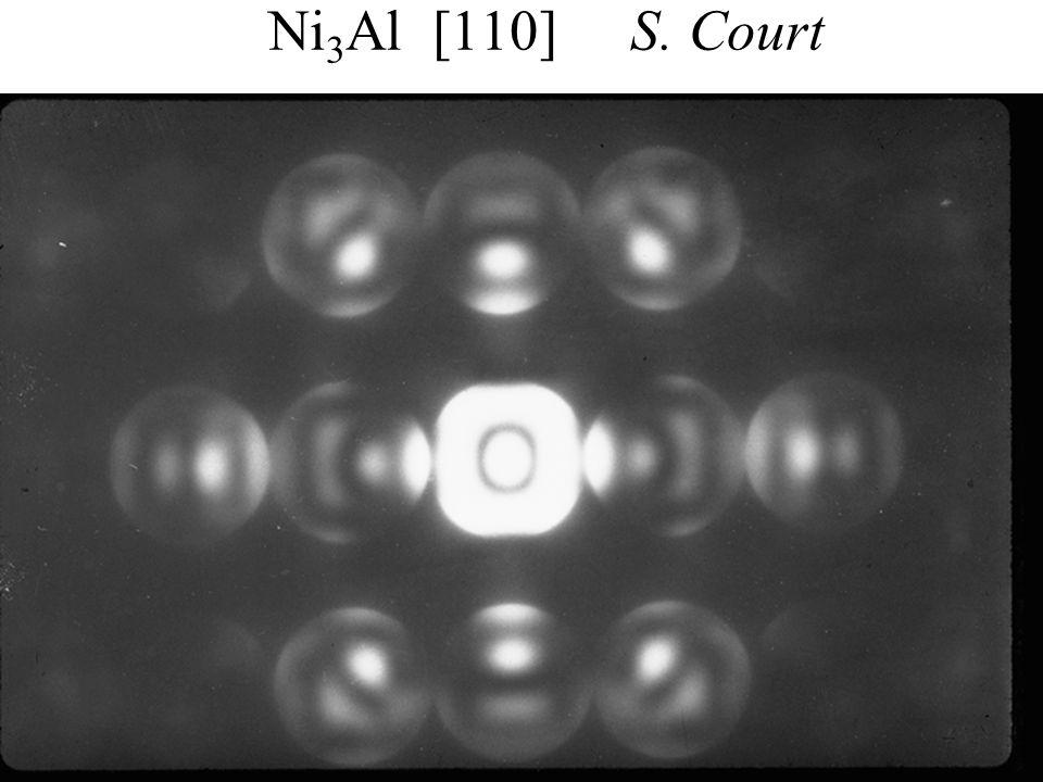 Ni3Al [110] S. Court